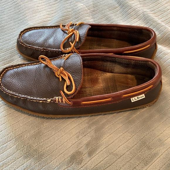 LL Bean house shoe